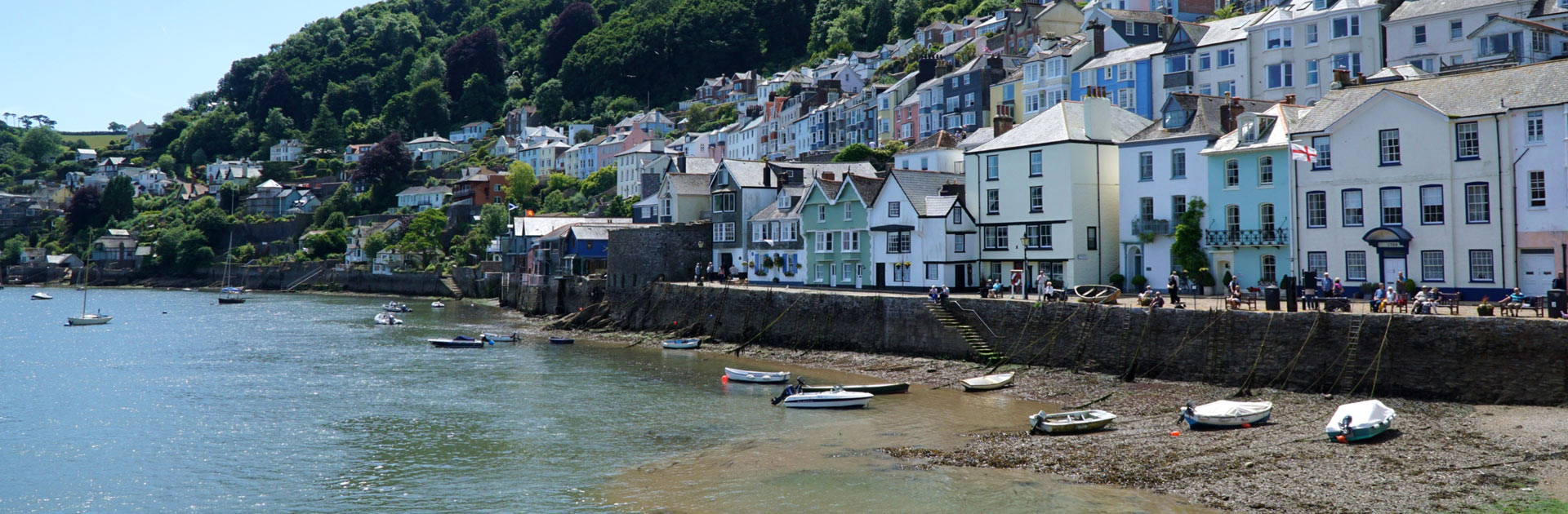 Dartmouth - Down the Estuary