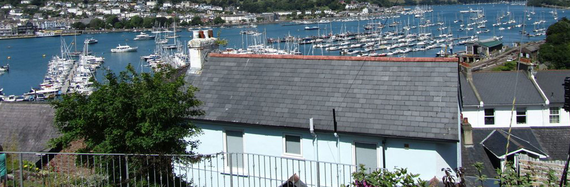 View Over Chapel House and Rooftops