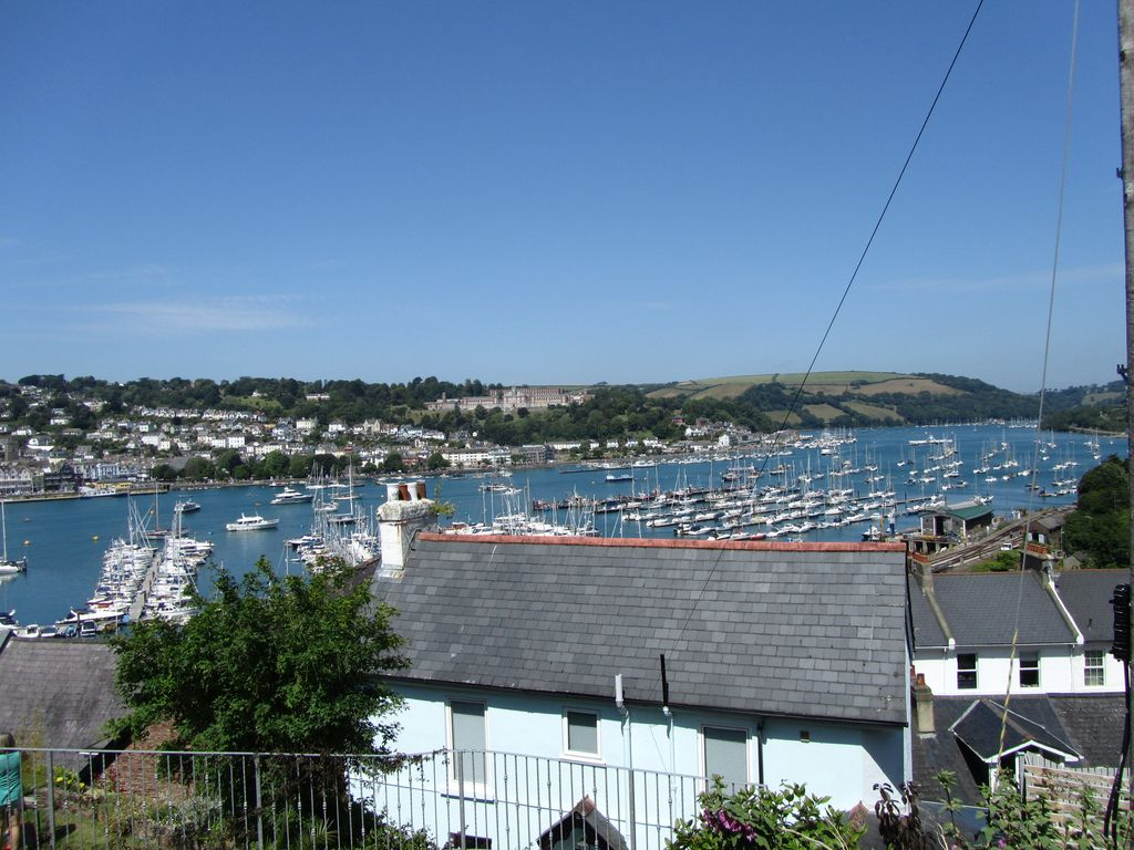 View over river Dart from Chapel House, Kingswear Holiday Let